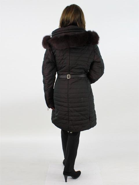 Vino Fabric and Fox Jacket