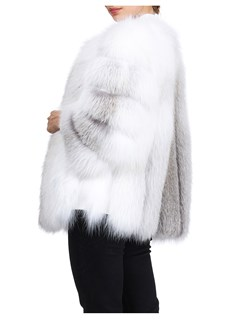 Gorski Woman's Fawn Fox Fur Jacket