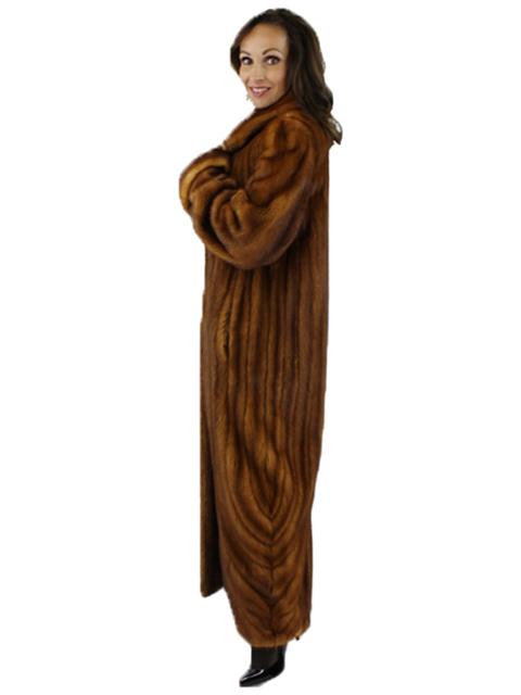 Mink Fur Full Length Coat