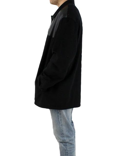 Retro Cashmere & Leather Jacket