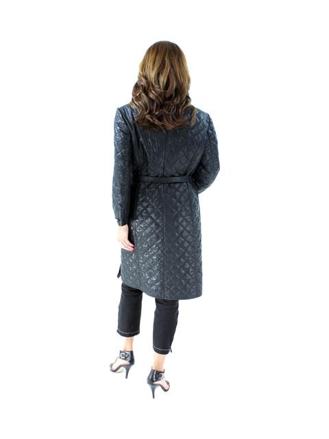 Wind Resistant Quilted Lightweight Coat