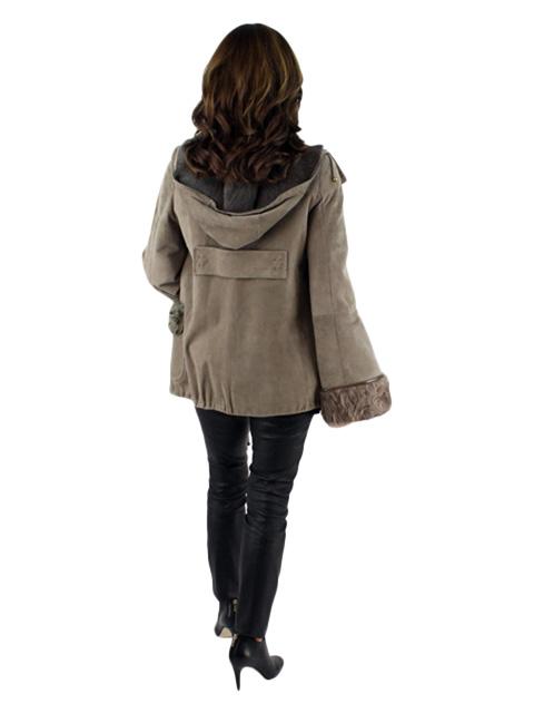 Hooded Chevraux Jacket