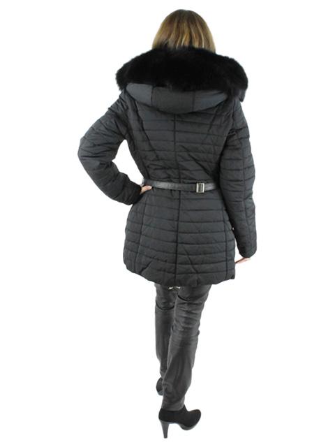 Fabric & Fox Fur Apres Ski Jacket