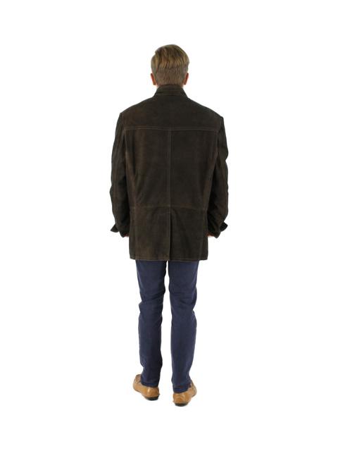 Suede Leather Blazer