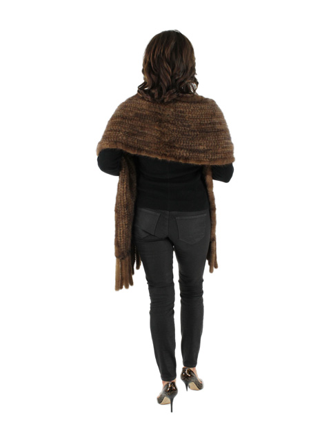 Knit Wrap w/ Fringe