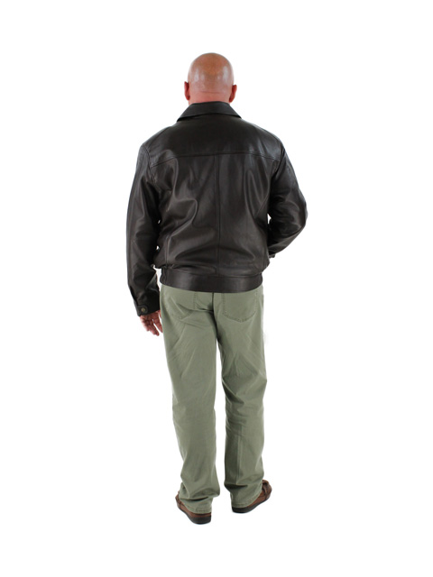 Leather Jacket w/ Zip Out Lining