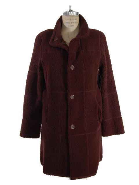 Shearling Lamb Fur Jacket Reversible