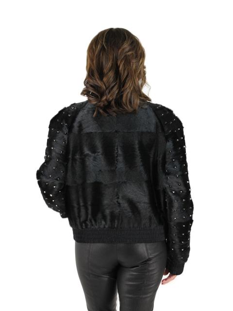 Black Goat Jacket