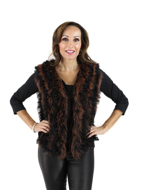 Black Copper TF Chiffon Fox
