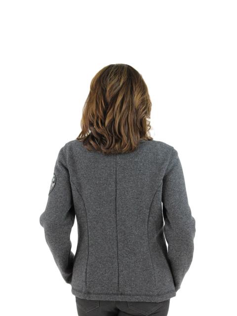 Grey Techno Wool Jacket