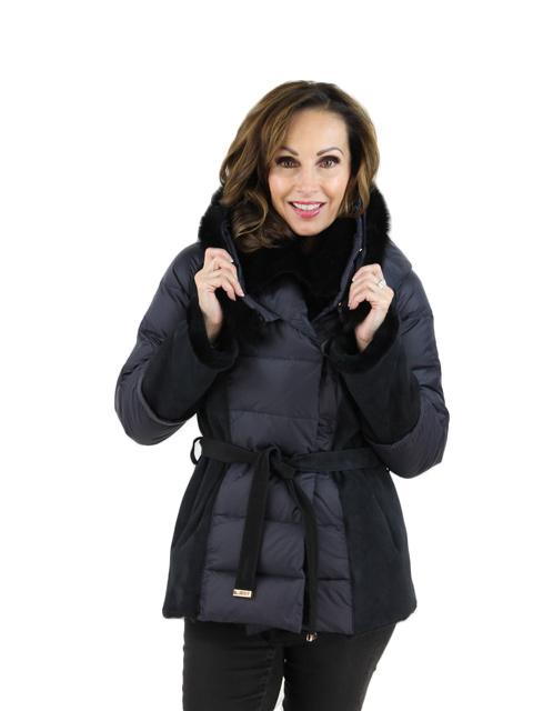 Azalea Shearling Lamb Jacket