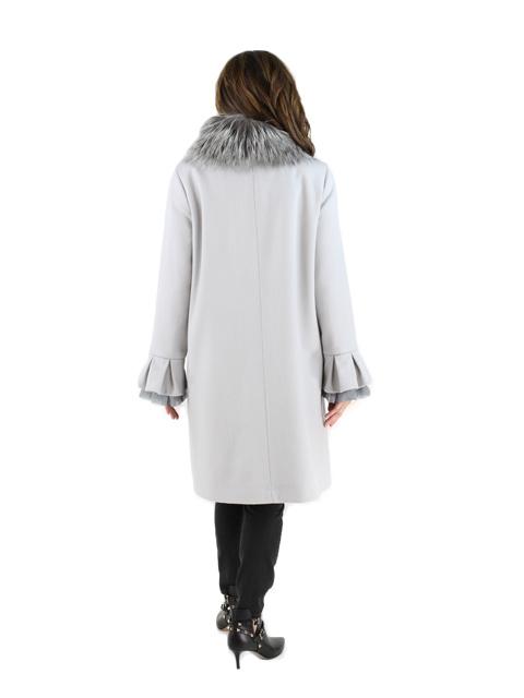 Pearl Grey Fabric Woven Fox Stroller