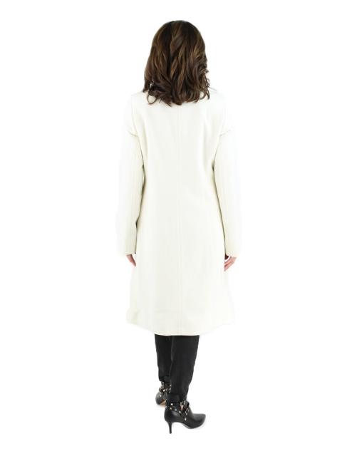Ivory Cashmere Coat