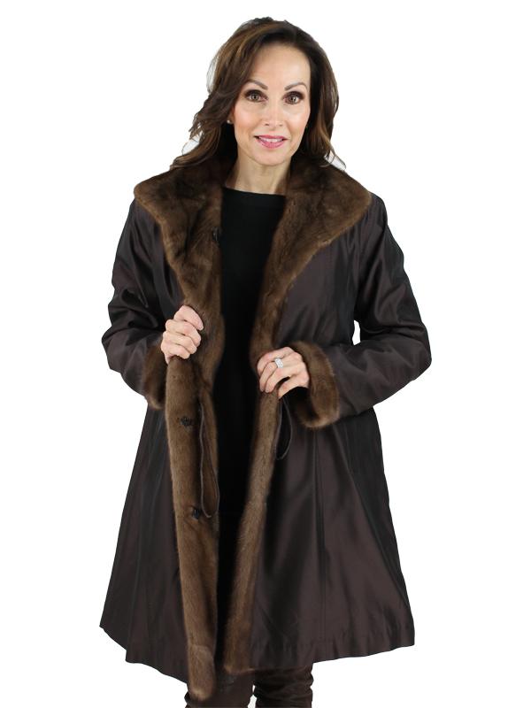Gorski Woman's Scanbrown Mink Fur Stroller