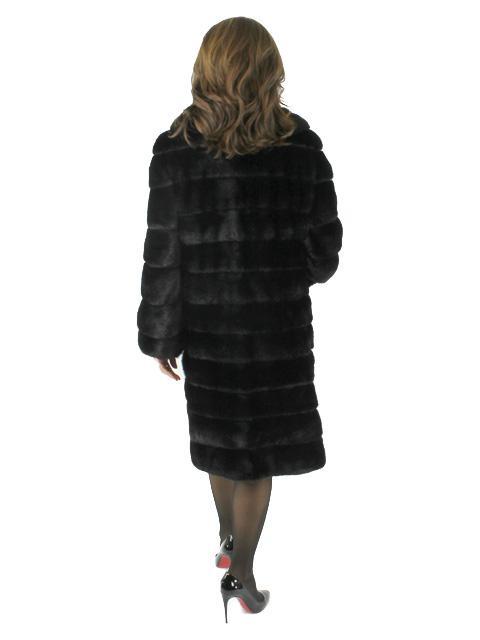 Art Deco Mink 7/8 Coat