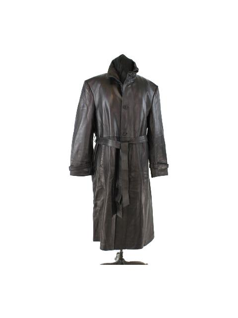 Leather Coat w/ Zip Out Lining