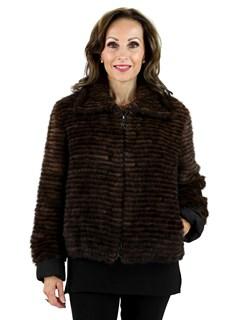 Scanbrown Mink Fur Jacket