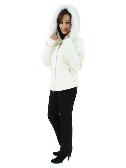 Ski Parka w/ Matching Fox Fur Trim