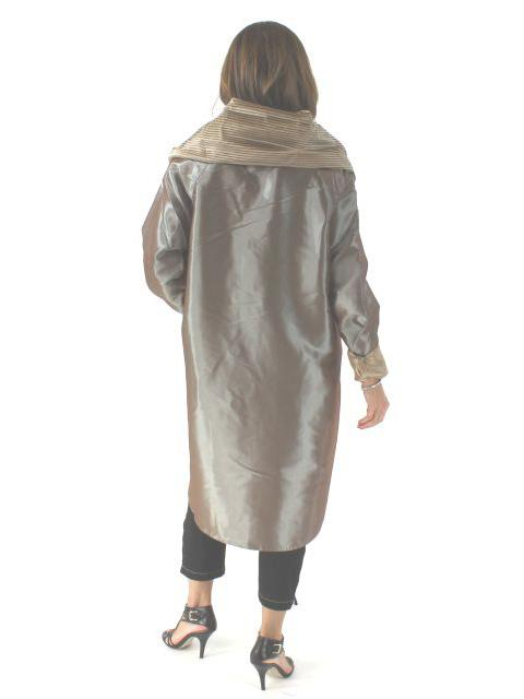 Trench Coat Reversible to Raincoat