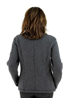Grey Techno Wool Jacket