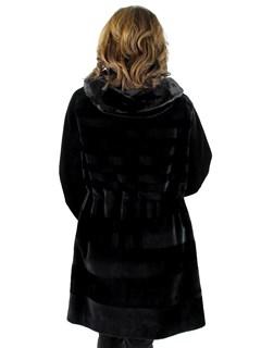 Gorski Woman's Sheared Mink Fur Stroller