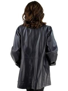 Ink Leather Jacket