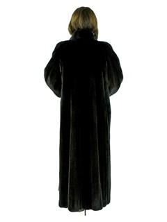Woman's Blackglama Female Mink Fur Coat
