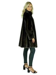 Gorski Woman's  Mahogany Mink Stroller