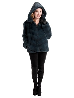 Gorski Woman's Pine Mink Fur Parka