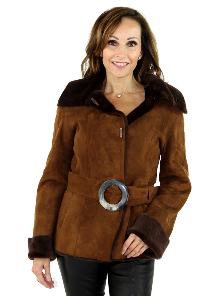 Woman's Shearling Lamb Jacket