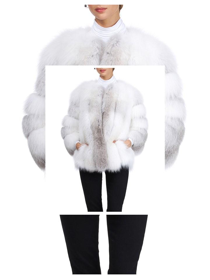 Gorski Woman's Fawn Fox Fur Jacket