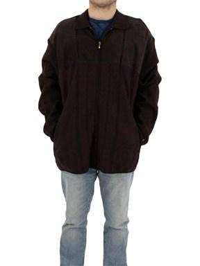 Man's Dark Chocolate Brown Wool Jacket