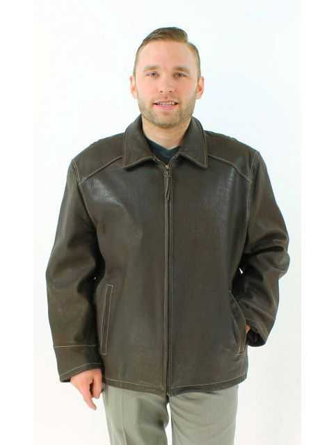 Perfect Three Season Chocolate Brown Leather Jacket
