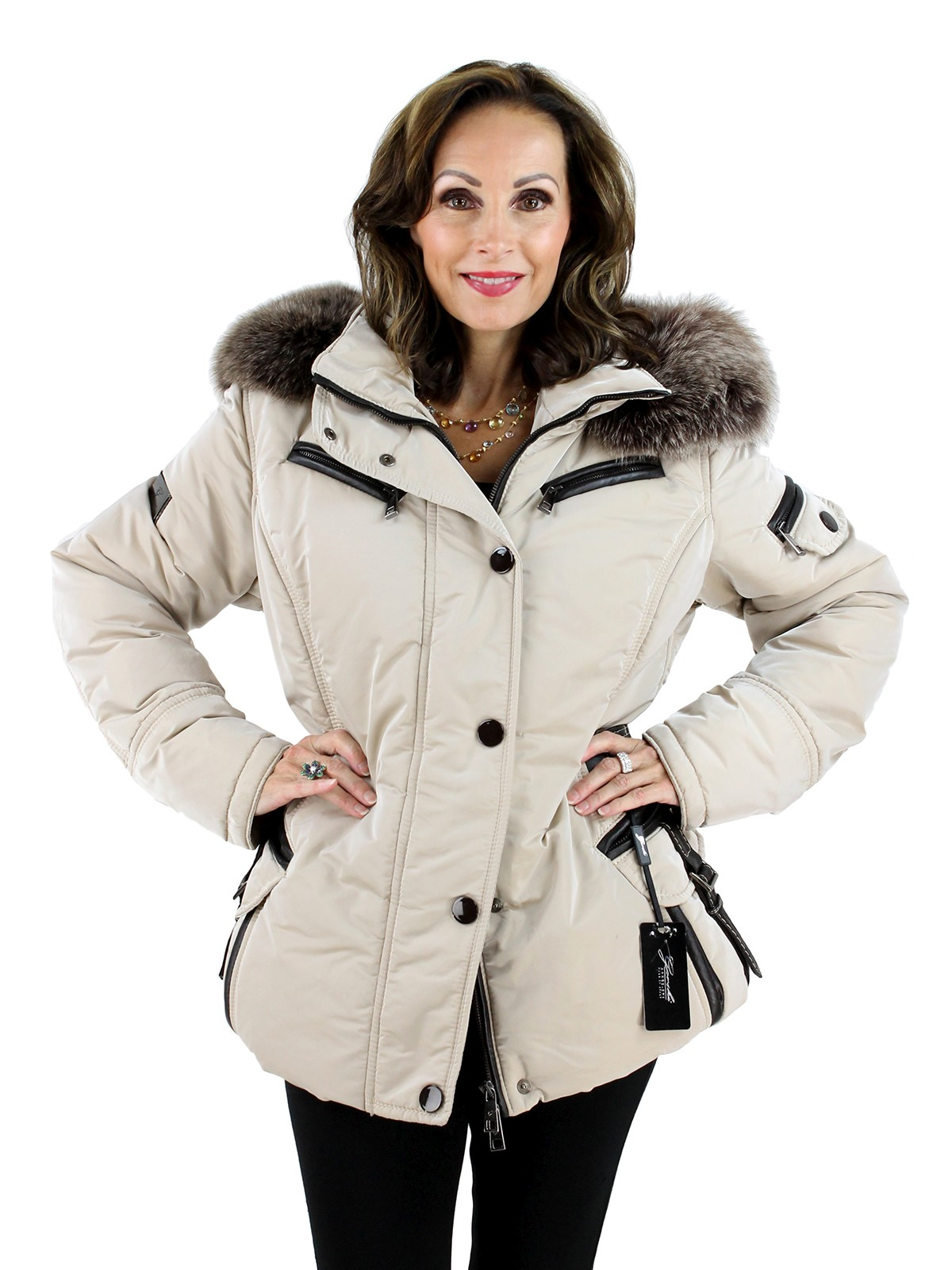 Woman's Latte Apres Ski Jacket