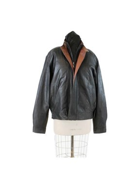 Boardroom to Sidelines Leather Jacket (Leather Trim)