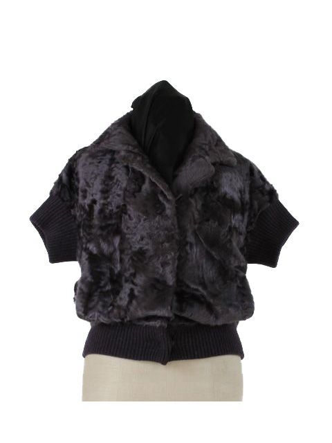 Grocery to Sidelines Fun and Warm Plush Plumb Lamb Jacket