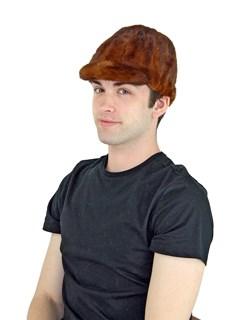 Unisex Whiskey Mink Fur Baseball Cap
