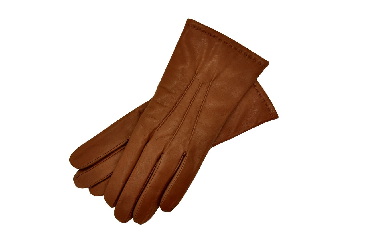 Russet Leather Gloves Womens Size 8