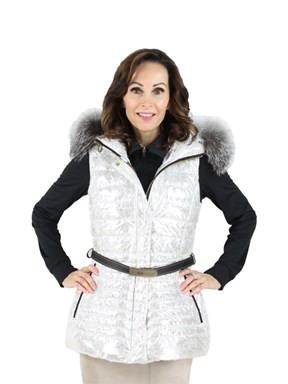 Gorski Woman's  Platinum Apres-Ski Vest