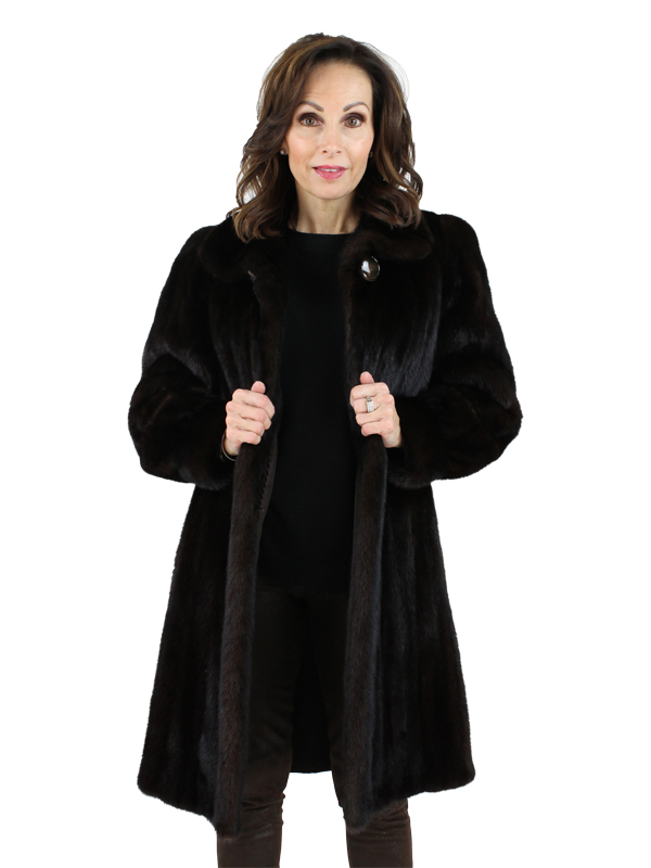 Woman's Gorski Mahogany Mink Fur Stroller